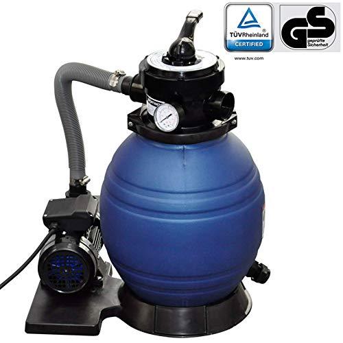 vidaXL Sistema de Filtración Arena Filtrante 11000 L Bomba