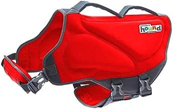 Outward Hound Dawson Dog Life Jacket, Large, Red