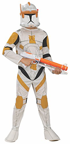 Rubie's Star Wars Clone Wars Clone Trooper Kinder Commander Cody Kostüm