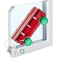 Tyroler Bright Tools - Limpiacristales Magnético The Glider D-4 - Limpiador de Ventanas para Interior y Exterior | Acristalamiento Simple, Doble o Triple 2-40 mm | Potencia de Imán Ajustable