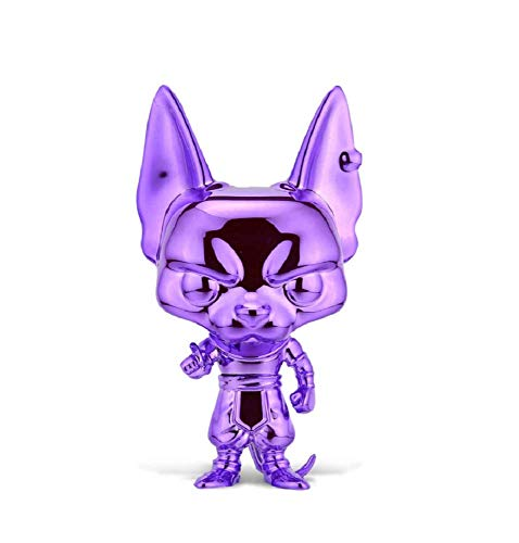 Funko Pop! Dragonball Super Purple Chrome Beerus Exclusive Figure
