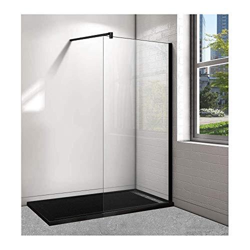 Plato de ducha de resina con marco - 70x140cm en color negro...