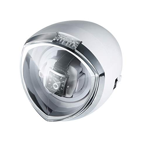Cajas enrolladoras de reloj con luces LED Mecánica giratoria automática Caja enrolladora...