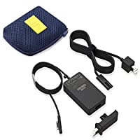 Designed to be compatible with Surface Book, Surface Laptop Go/ Laptop 1/ Laptop 2/ Laptop 3, Surface Pro X/ Surface Pro 7/ Surface Pro 6/ Surface Pro 5/ Surface Pro 4/ Surface Pro 3, Surface Go. KSW KINGDO 65W Power Supply quickly recharges the batt...