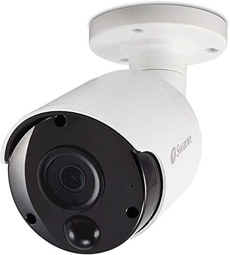 Swann Cámara de Seguridad de la bóveda de detección térmica estupenda del CCTV de 5 MP con PIR y visión Nocturna del IR