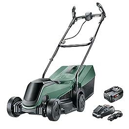 Bosch Home and Garden Tondeuse sans Fil – Citymover 18 (Livrée avec Une Batterie 18v-4ah et Son Chargeur), 06008b9a00