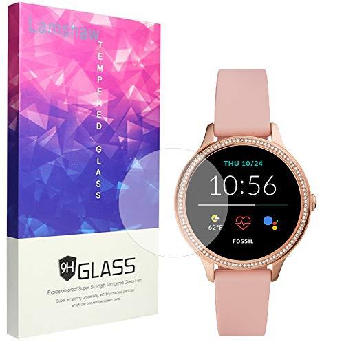 LvBU Bildschirmschutzfolie Kompatibel Für Fossil Gen 5E Smartwatch, 9H Festigkeit Panzerglas Schutzfolie für Fossil Damen Gen 5E Smartwatch (3 Pack)
