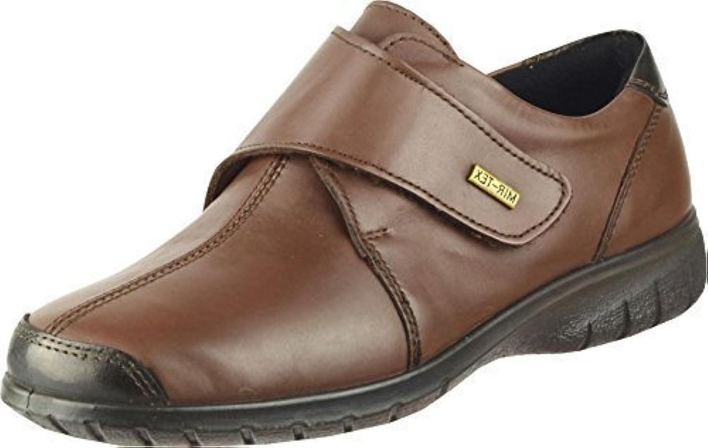Cotswold Damen Schuhwerk Stiefel Cranham Leder Textil EASY VERSCHLUSS Damenschuhe
