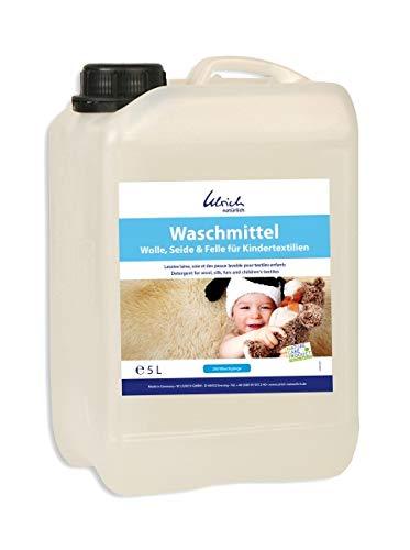 Waschmittel Wolle, Seide und Felle 5 Liter, rückfettend - für Kindertextilien