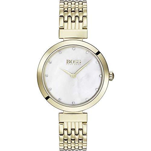 Hugo Boss Femmes Analogique Quartz Montres bracelet avec bracelet en Acier Inoxydable - 1502479