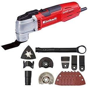 Einhell 4465150 Maquina Multifuncional Electronica TE-MG Eq Potencia 300 w, 240 V, Rojo