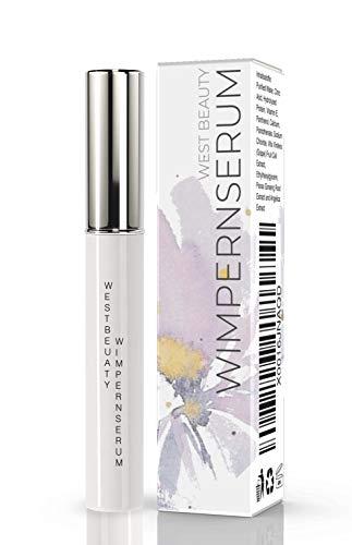 West Nutrition - West Beauty wertvolles Wimpernserum & Augenbrauenserum 7ml - natürliche Kosmetik – lange und voluminöse Wimpern – schneller Wachstum - Wachstumsserum
