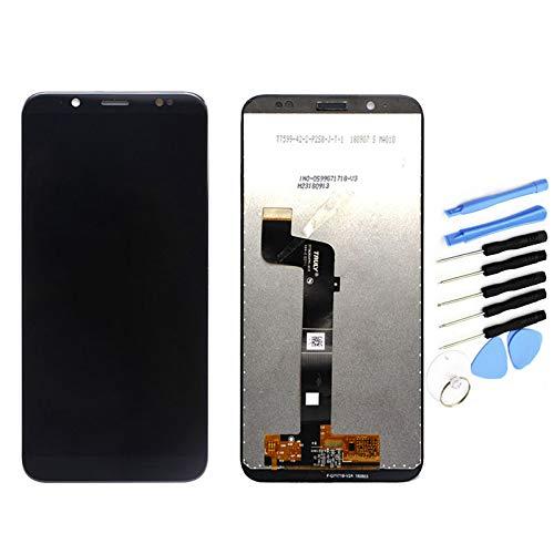 YQZ pour HTC U12 Life Remplacement de Vitre Tactile Ecran LCD Assemblé (sans Châssis) (Noir)