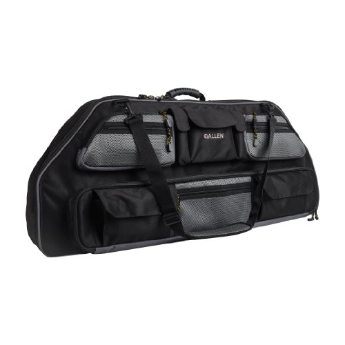 Compound Bow Case, Black Gear Fit X Fits Compound Bows up to 35