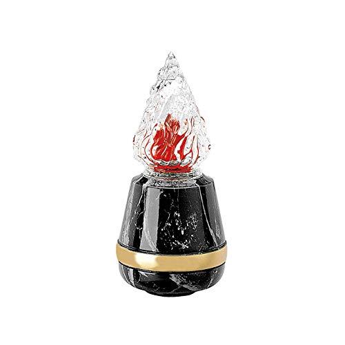 REAL VOTIVA FONDERIE D'ARTE Lámpara de Bronce - Acabado mármol Marquinia Negro - Línea Cotile (cm 21, Montaje en Pared) [P.04.3108/21]