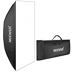 "Neewer portable rectangular softbox with border BOWENS 60 X 90cm / 23.6 ""x 35.4"""