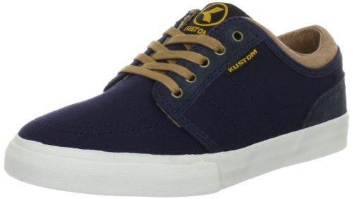 Kustom Herren Remark DLX Sportschuhe-Skateboarding, Blau (Navy 6021), 36 EU