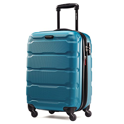 Samsonite Omni PC Hardside Luggage, Caribbean Blue, Carry-On
