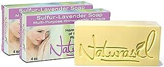 Premium Medicated Sulfur-Lavender Soap 4oz Bonus 2 Pack