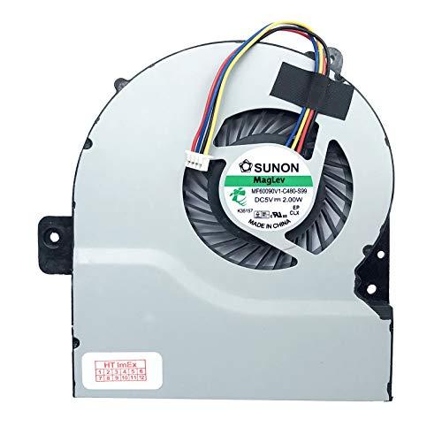 Lüfter/Kühler - Fan kompatibel für ASUS F751LAV, F751LJ, F751MJ, F751M, F751LN, F751NA, F751S, F751SA, F751A, F751SJ, F751LDV, F751L, F751LX, F751LK, F751LD, F751LB, F751MA