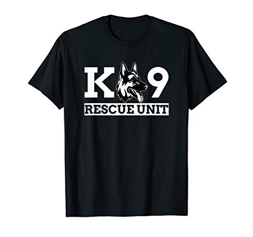 K9 Rescue Unit - K9 Police Dog K9 handler Shirt Gift
