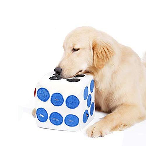 würfel hundespielzeug,schnüffelteppich intelligenzspielzeug für haustier,hund riechen trainieren spielzeug,hundespielzeug fördert natürliche nahrungssuche