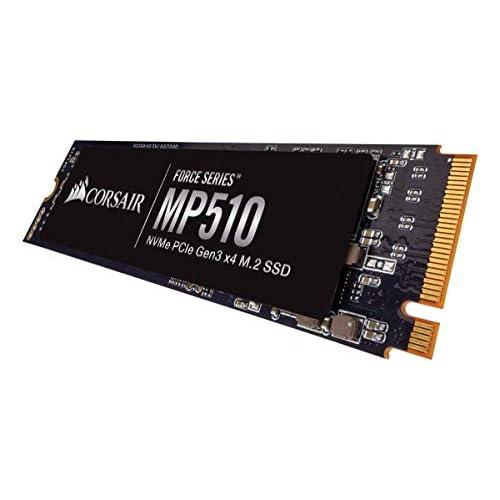 Corsair Force MP510, 480 GB, NVMe PCIe Gen3 x4 M.2 - SSD, Velocità di Lettura fino a 3480 MB/s