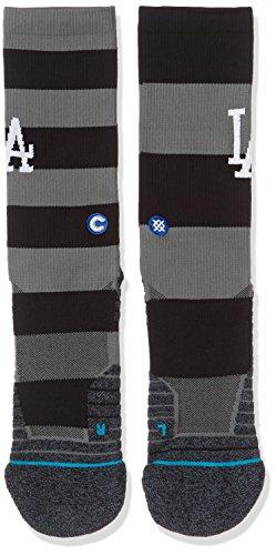 Stance Dodgers Nightshade Socks - Black Large
