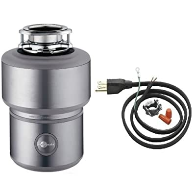 InSinkErator Insinkerator Excel Evolution 1 HP Garbage Disposal With Soundseal Plus Technolog, Power Cord Included