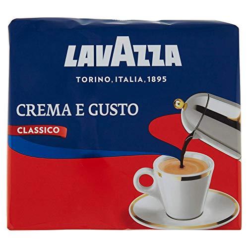 Lavazza Caffè Macinato Crema e Gusto Classico, 2 x 250g
