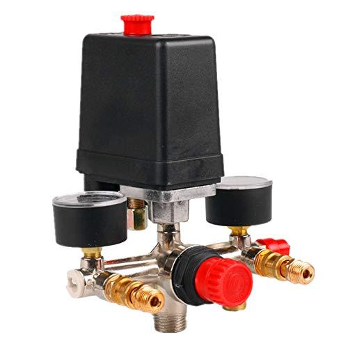 Monland 175Psi 12Bar 230V 16A Luft Kompressor 8 Bar Druck ein/AUS Schalter Steuer Ventil Knopf
