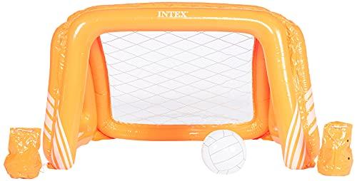 INTEX INX58507 Cage de water polo, Orange, 140 x 89 x 81 cm