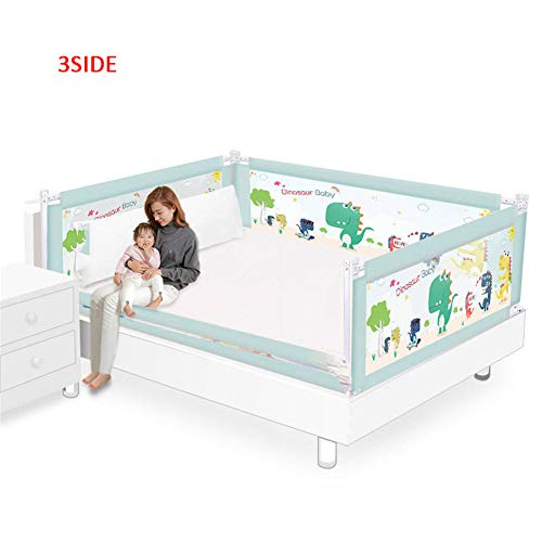 For Sale! H-UALN Bed Guard Rail for Toddlers Safety Material Sturdy Baby Safe Side Rail 5 Gears Adju...