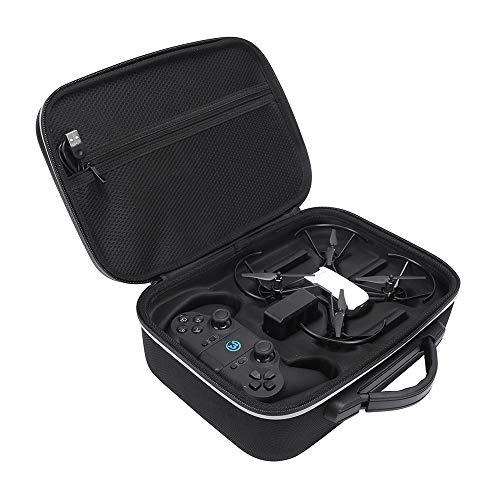HIJIAO Harte EVA-Tragetasche tasche für DJI Tello Quadcopter Drone Remote Controller und Fliegen-Tragetasche Schutzbox