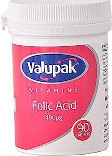 Valupak vitaminer kosttillskott folsyra 400 mcg 90 tabletter