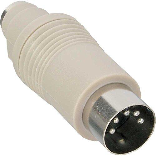 InLine 33949 Tastatur-Adapter, 5pol DIN-Stecker auf PS/2 Buchse
