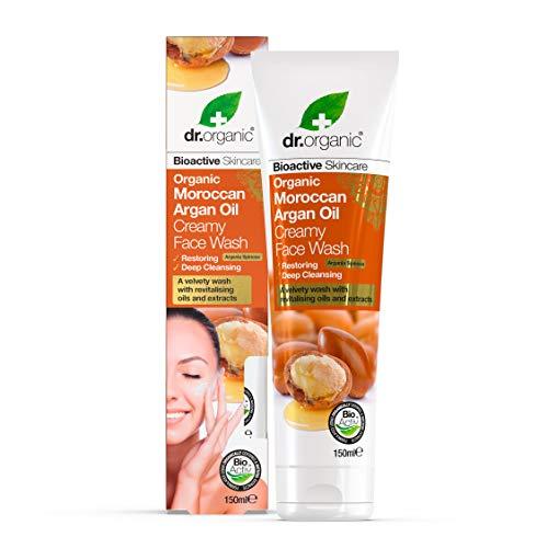Optima Naturals Dr. Organic Moroccan Argan Oil Face Wash 150ml