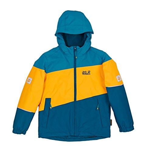 Jack Wolfskin Kids Triad II Texapore Insulated Jacket - Moroccan Blue - 140 - Wasserdichte warme Kinder Winterjacke