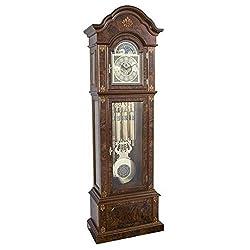 Hermle German Gabriella Mechanical Grandfather Clock 01244031171, Triple Chimes