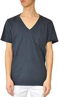 Freeseam フリーシーム VネックポケットTシャツ (DARK NAVY)