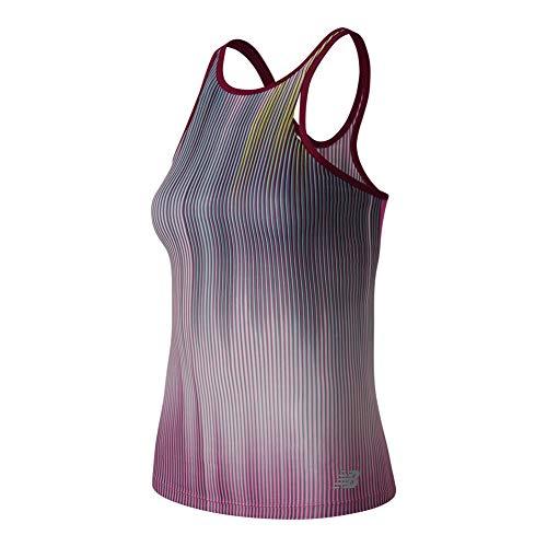 New Balance Women's Yarra Tank Top, Jewel Multi, Medium