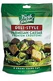Fresh Gourmet DELI-STYLE PARMESAN CAESAR Croutons-3 packs...