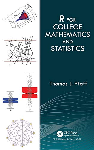 R For College Mathematics and Statistics Front Cover