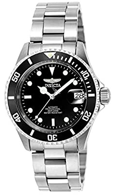 Invicta Men's Pro Diver 40mm Stainless Steel Automatic Watch with Coin Edge Bezel, Silver (Model: 9937OB)