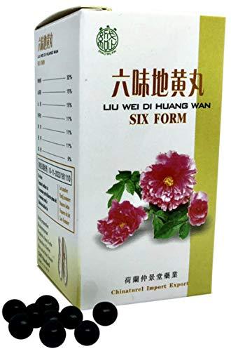 Liu Wei Di Huang Wan (Six Shape) TCM Herbal Formula 200 Pills