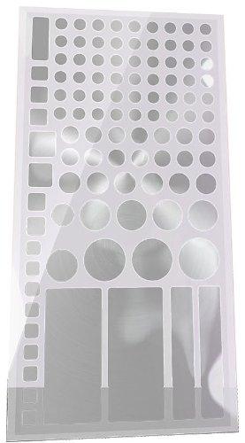 Lightdims Silberedition - Lichtdimmernde Ledsheets Für Metallic/Aluminium-Farbige Elektronikgeräte, Haushaltsgeräte, Und Weiteres. Dimmt 80-90% Licht, In Umweltfreundlicher Verpackung.