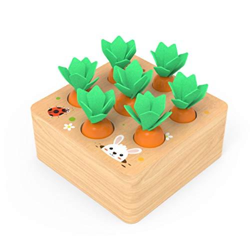 Karottenspiel Puzzle Brettspiel Lernspielzeug Sortierspiel Spielzeug für Jungen und Mädchen