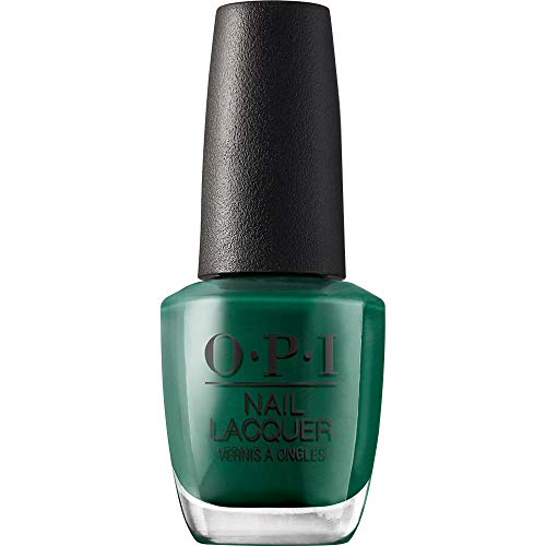 OPI Nail Lacquer, Stay Off the Lawn!!, Green Nail Polish, Washington DC Collection, 0.5 fl oz