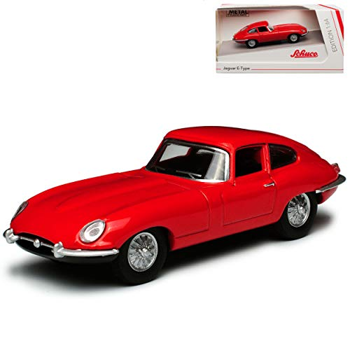 Jaguar E-Type Coupe Rot 1961-1974 1/64 Schuco Modell Auto