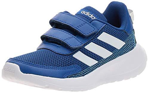 adidas Unisex-Child Tensaur Run Sneaker, Team Royal Blue/Footwear White/Bright Cyan, 30 EU